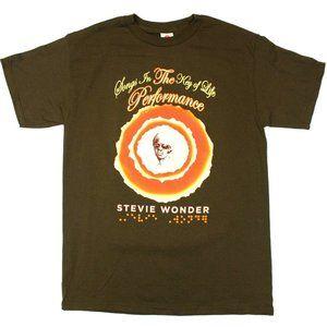 """Stevie Wonder """"Songs In The Key Of Life"""" Tee - L"""